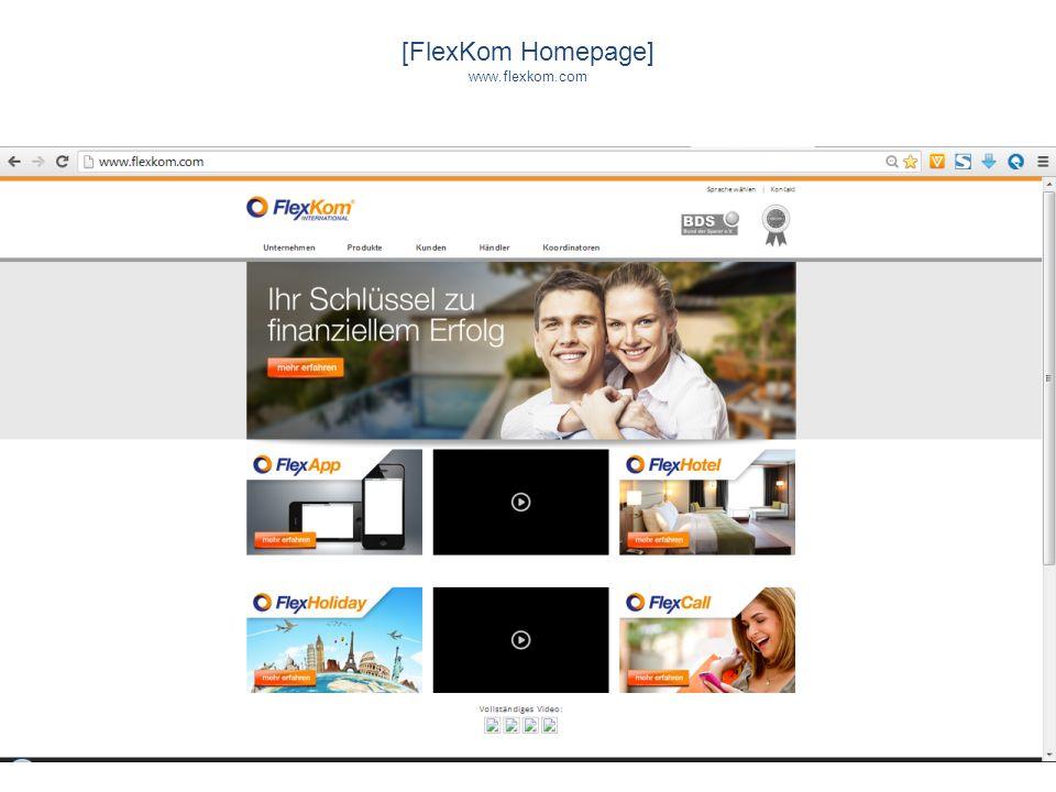 [FlexKom Homepage] www.flexkom.com